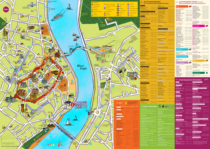 DVCB Map 2012 Big Fish Design Advertising