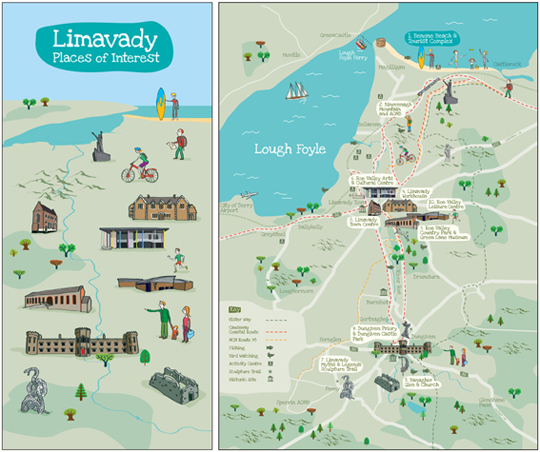 Limavady Borough Council Map